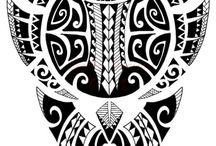 Polynéské Tetování