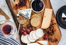 Cheese Boards / Who doesn't love cheese? There is nothing better than cheese + wine + other delicious treats. Make the perfect cheese board that is sure to wow your guests.