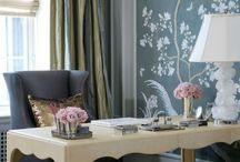 chic stylish and oh so girly work spaces