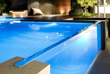 arch swimming pool