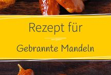 gebrannte  Mandeln/ Nüsse