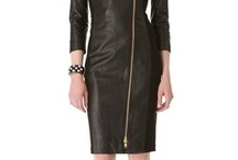 Awesome Women leather Dress