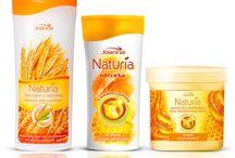Hair care with Naturia / Naturia to seria kosmetyków pielęgnujących włosy oraz skórę głowy. Produkty powstały w oparciu o starannie dobrane aktywne składniki naturalne, dzięki czemu zapewniają zdrowy i piękny wygląd włosów oraz komfort i bezpieczeństwo stosowania.