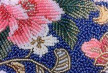 Вышивка бисером / Работы вышитые бисером, схемы вышивки бисером.