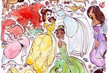 Princezné / Krásky a sranda