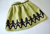 girl's clothing/skirts