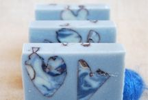 Handmade soap, cold processed soap
