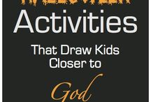 Christian Halloween and Harvest Ideas / Ideas for Christian families to celebrate Halloween and the Harvest Season / by Christianity Cove