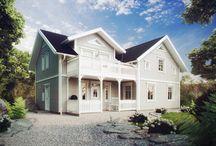 Inspo till huset / Inspiration till husbygget :)