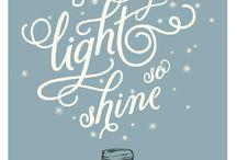 SHINE / to remind me to shine