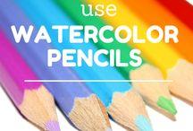Watercolurpencils