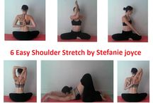 Shoulder Stretch / 6 Easy Shoulder Stretch  !!!