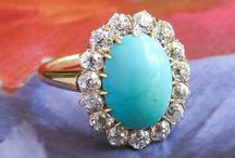 Turquoise Finds / One of a kind estate, vintage & antique turquoise jewelry from Jewelry Finds®!!!