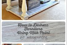 milk paint furniture