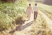 Couples / Photography inspiration for engagement, love sessions, anniversaries, or any other type of couple portrait sessions / by Eccentric Owl