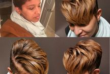 Hairstyle looks