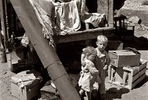 The Tumultous 30s / Sandwiched between two catastrophic major wars, the 1930s were a time of great poverty and the determination of the human spirit to survive in spite of it all. Much movement across the country's borders took place as people chased a dream.  / by Gayle Montgomery