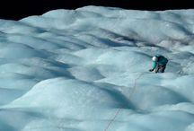 Ice Climbing in Mendoza Argentina