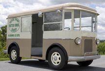 Vintage Milk Trucks