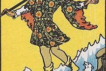 Tarot Cards / A smattering of my favorite tarot cards from various decks