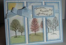 Lovely as a Tree Stampin' Up! Stamp Set Greeting Cards