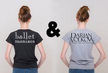 BALLET MANIACS & DARIAN VOLKOVA / Коллаборация с известным балетным фотографом Дарьян Волковой!