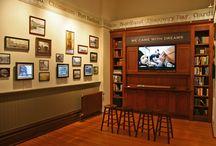 Museum Lobbies/Orientation Spaces