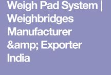 Weigh Pad System | Weighbridges Manufacturer & Exporter India