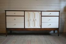 Gamle møbler blir nye - furniture revival