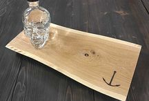 Wood Anchor Shop / Check out the Wood Anchor Shop! You can find cool Items such as clothing cutting boards and cheese boards!