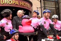 Belfast Goes Pink For #GiroStart2014 / Belfast is excited to welcome the Giro and to celebrate all sorts of things will be turning pink!