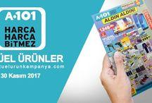 A101 Aktüel Ürünler Katalogları