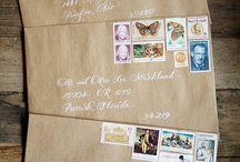 packaging + postage designs