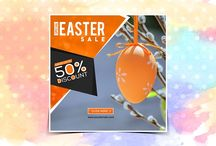 Easter Instagram Banners