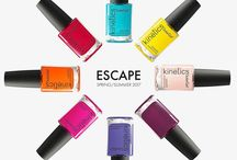 Kinetics Escape - Nail polish collection S/S 2017 / Escape es la Colección de esmaltes de uñas primavera verano 2017 de Kinetics