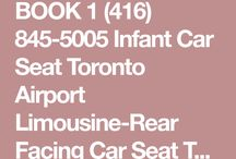 Airport Limo Toronto Toddler Car Seat, Infant Car Seat Limo & Booster Car Seat / Pre Installed Baby Car Seats ( Infant Car Seats Airport Limo, Toddler Car Seats Airport Limo, Booster Car Seats Airport Limo ) in 03 Passengers Toronto Airport Limousines, 05 Passengers Limo Vans, 10 Passengers Executive Vans, 06 Passengers Suburban, Yukon XL SUV's to and from the Toronto Pearson Airport Upon Request.