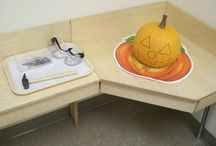 Seasonal- October (Fall, Pumpkins, Halloween Preschool and Kindergarten Themes) / by Seemi @ Trillium Montessori