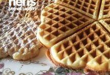 waffle tarifleri