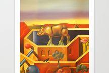 Art Prints by Ruben Cukier