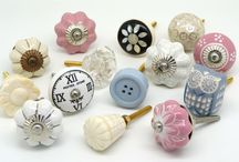 Mix and Match Cupboard Door Knobs / Different shaped and sized cupboard door knobs to use on your next project?