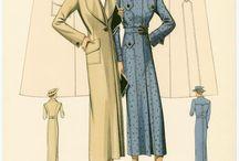 Eski dönem moda / 1930-1940-1950 ler