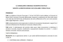 LA MONTECORVINO CHE VOGLIAMO - FORZA ITALIA
