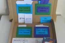 Spelling practice / by Rebecca Delano