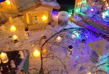 January Ideas / Snow - snowmen - animals in winter