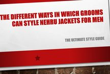 The Different Ways in Which Grooms Can Style Nehru Jackets for Men