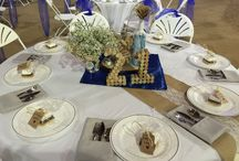 Table Settings / We are honored with so many ideas for table settings from our brides at the Ellis Ranch Wedding Park and the Carriage House Wedding Park