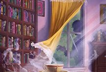 """That Cozy Feeling: Mysteries, Holidays, etc / Comfortable, light material, including holiday stories and of course, """"the COZY mystery"""" (books, audios & DVDs)"""
