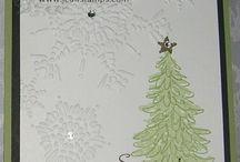 SU Weihnachtskarten