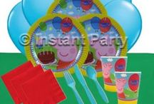 Girls Party Supplies / These Girls Themed Party Packs are the quick and easy way to oragnise your party supplies for your girls birthday parties.