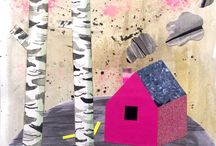 Collager/ mixed media